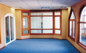 意式68铝木复合平开窗