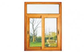 意式80铝木复合推拉窗